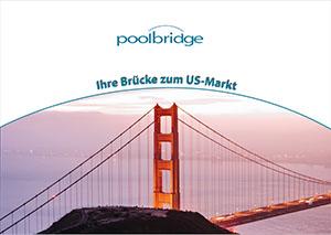 """Cover der Broschüre 2 für die fiktive Firma """"poolbridge"""""""