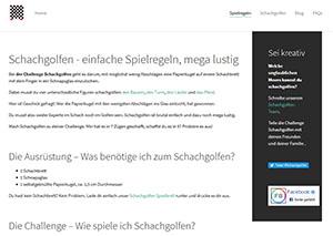Screenshot suchmaschinenoptimierte Typo3 Webseite
